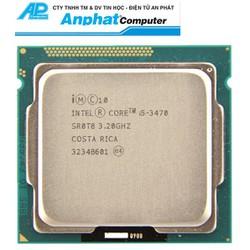 CPU core i5 3470 3.2Ghz tray fan zin thế hệ 3 Bảo hành 36 Tháng