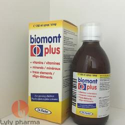 Biomont Plus - Giải pháp giúp trẻ biếng ăn còi xương