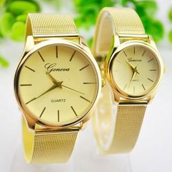 Đồng hồ đôi vàng sang trọng GENEVA Hàn Quốc SMM25