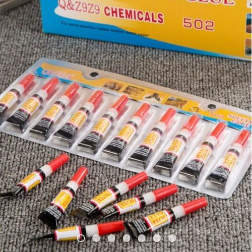 Set 4 lọ keo siêu dính đa năng super glue 2g