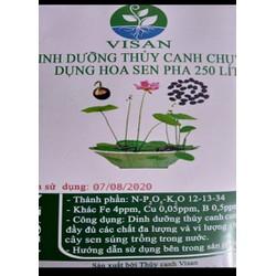 Dung Dịch Thủy Canh Cho Hoa Sen