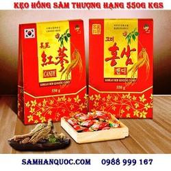 Kẹo Hồng Sâm 6 Tuổi Túi Xách KGS Thượng Hạng 550gr