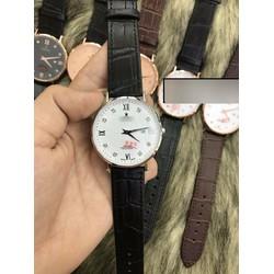 Đồng hồ dây da phong cách đơn giản pha chút cá tính LEXRO750N02