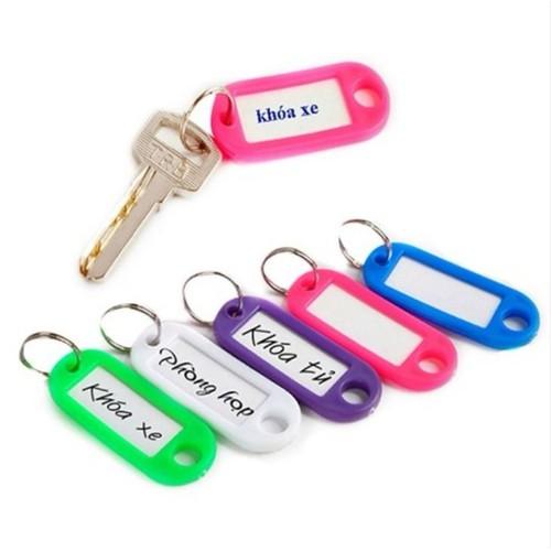 Set 6 thẻ ghi nhớ, đánh dấu chìa khóa, hành lý tiện dụng