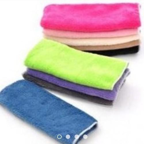 Set 2 khăn lau tay lông mềm 25*25cm