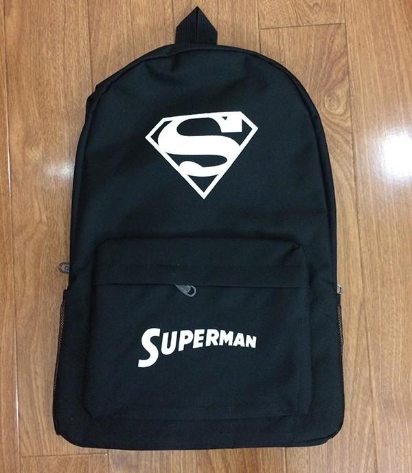 Ba lô vải dù phát quang Super Man 1