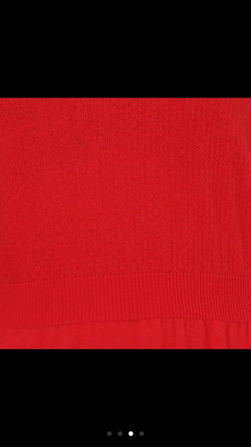 đầm len nhập tay dài 4