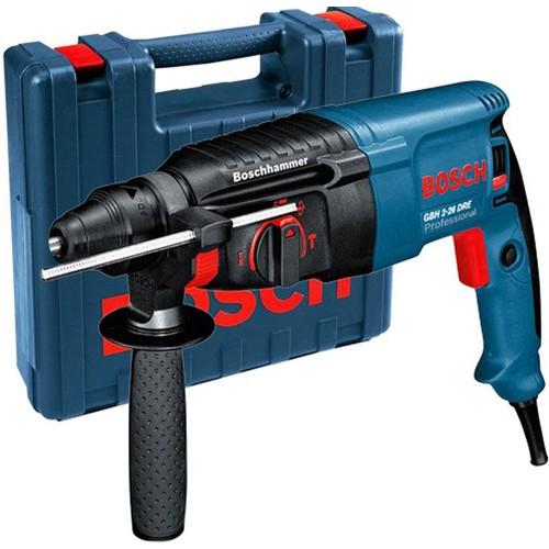 26mm Máy khoan búa 800W Bosch. GBH 2-26DRE - 7837183 , 8392021 , 15_8392021 , 3707000 , 26mm-May-khoan-bua-800W-Bosch.-GBH-2-26DRE-15_8392021 , sendo.vn , 26mm Máy khoan búa 800W Bosch. GBH 2-26DRE
