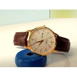 Đồng hồ dây da phong cách đơn giản pha chút cá tính LEXRO750N03
