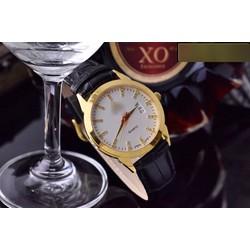 Đồng hồ dây da phong cách đơn giản pha chút cá tính MEGAO750N01