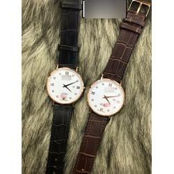 Đồng hồ dây da phong cách đơn giản pha chút cá tính LEXRO750N01