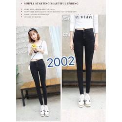 Quần jeans dài đơn giản