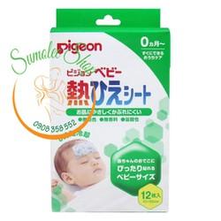 Dán hạ sốt Pigeon cho bé 12 miếng