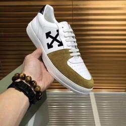 Giày nam da bò hình X đơn giản sang đẹp