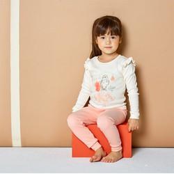 Đồ bộ tay bồng cho bé gái - Bộ mặc nhà cho bé gái