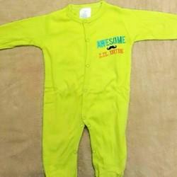 bộ áo quần liền tất cho bé 0-3 tháng