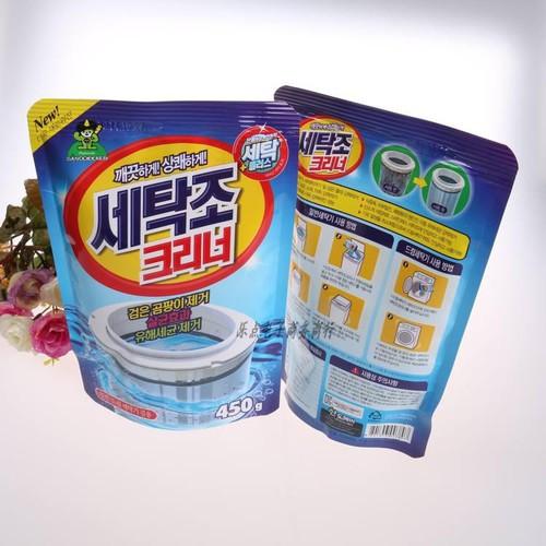 Bộ 2 gói bột vệ sinh tẩy lồng máy giặt Sandokkaebi Hàn Quốc 450Gr - 10557860 , 8403886 , 15_8403886 , 100000 , Bo-2-goi-bot-ve-sinh-tay-long-may-giat-Sandokkaebi-Han-Quoc-450Gr-15_8403886 , sendo.vn , Bộ 2 gói bột vệ sinh tẩy lồng máy giặt Sandokkaebi Hàn Quốc 450Gr