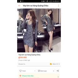 váy kimsa Hàng Quảng Châu