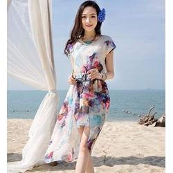 Đầm maxi đi biển