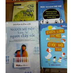 Combo 4 cuốn sách về nuôi con
