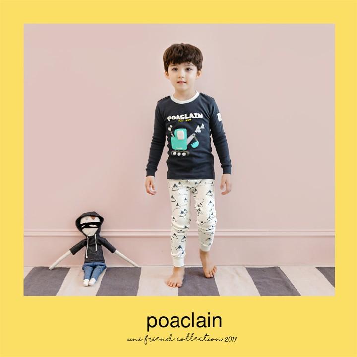 Bộ đồ cho bé trai chất liệu cotton - Quần áo trẻ em Hàn Quốc 4