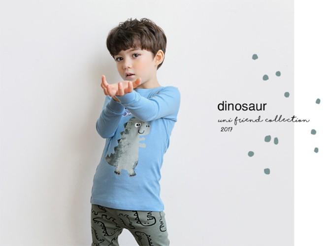 Bộ đồ cotton cho bé - Đồ xuất Hàn - UniFriend 5