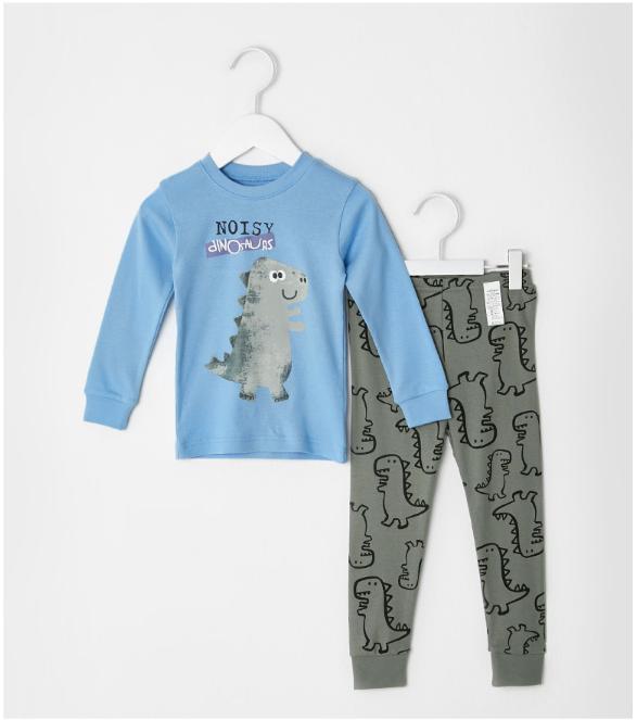 Bộ đồ cotton cho bé - Đồ xuất Hàn - UniFriend 4