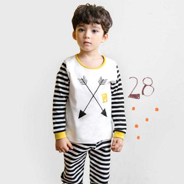 Bộ đồ cotton cho bé trai - quần áo trẻ em - đồ bộ cho bé 4