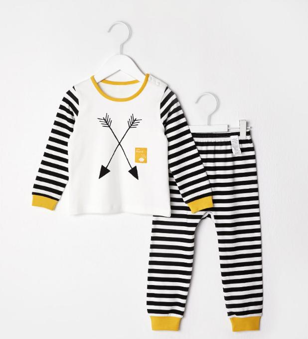 Bộ đồ cotton cho bé trai - quần áo trẻ em - đồ bộ cho bé 1