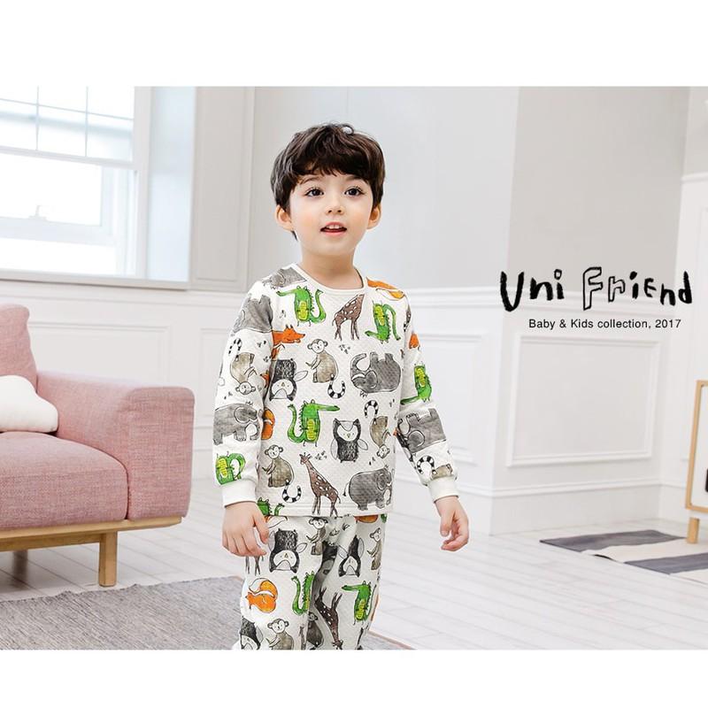 Bộ đồ hoạt hình cho bé - UniFriend - Đồ bộ cho bé 1