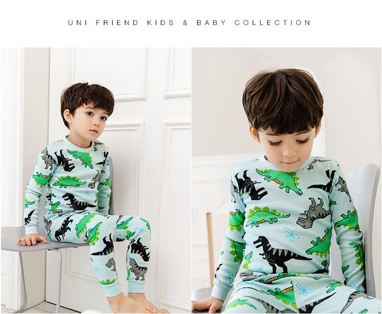 Bộ đồ khủng long cho bé - UniFriend - Quần áo trẻ em 2