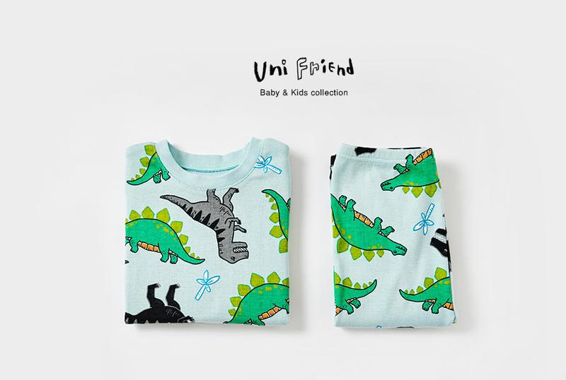 Bộ đồ khủng long cho bé - UniFriend - Quần áo trẻ em 1