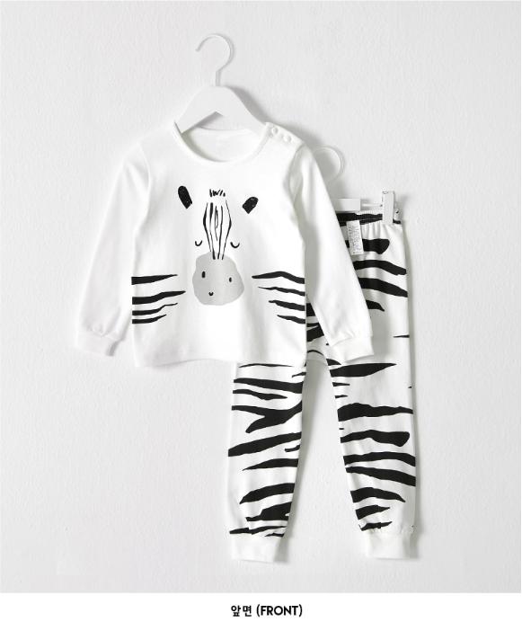 Bộ quần áo ngựa vằn cho bé - Cotton - Quần áo trẻ em 1