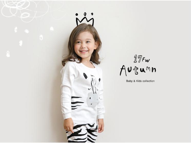 Bộ quần áo ngựa vằn cho bé - Cotton - Quần áo trẻ em 5