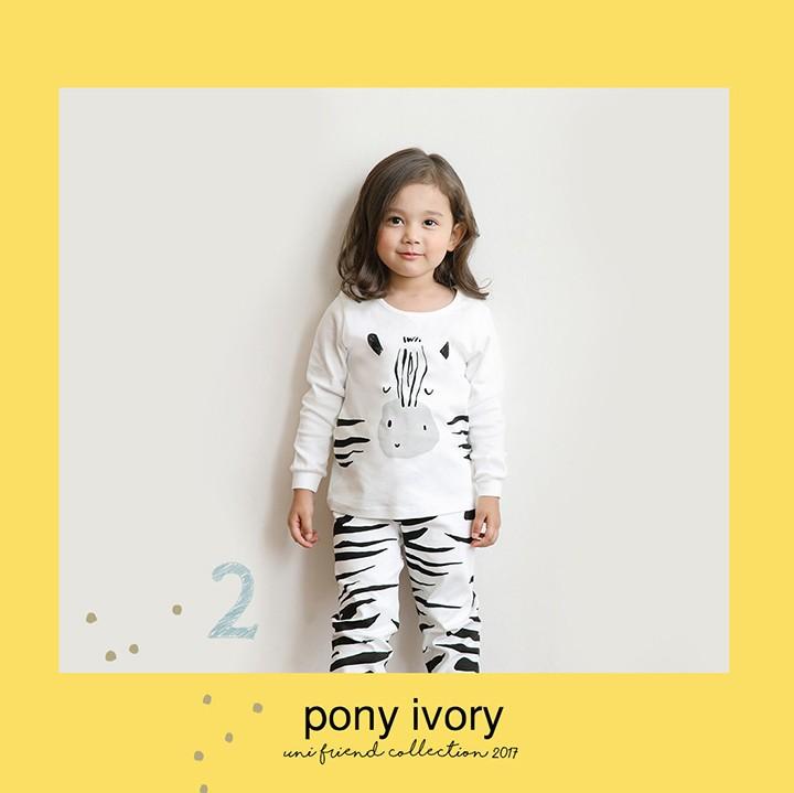 Bộ quần áo ngựa vằn cho bé - Cotton - Quần áo trẻ em 4