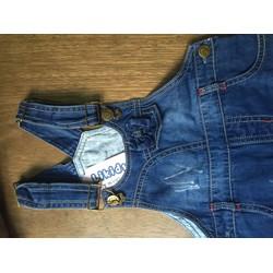 Yếm đầm jean cho bé từ 3 đến 10 tuổi