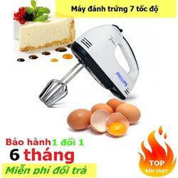 Máy đánh trứng làm bánh,nhào bột,làm kem 7 tốc độ  đa năng giá rẻ