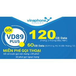 Sim Vinaphone gói cước VD89P