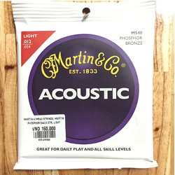 Dây Guitar Acoustic Martin M540- SIGNATURE STRINGS