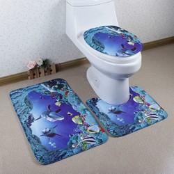 Bộ Thảm 3D Chống Trượt Toilet