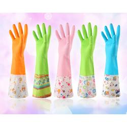 [Hàng đẹp] Bao tay làm bếp, vệ sinh nhà cửa, ống tay dài