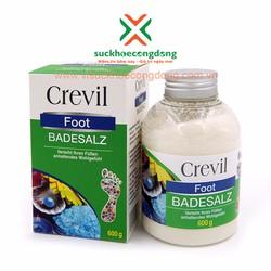 [Quà Tặng]Muối khoáng ngâm chân biển chết Crevil Foot Badesalz+ 1Trà