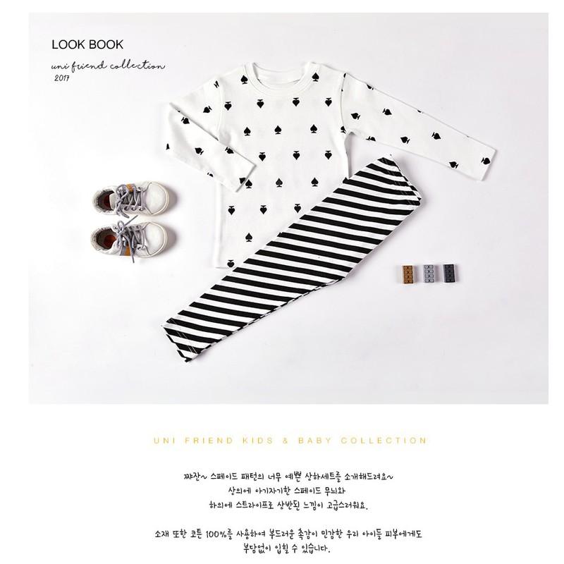 Set đồ cotton xuất Hàn cho bé trai - quần áo trẻ em 3