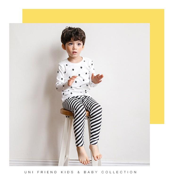 Set đồ cotton xuất Hàn cho bé trai - quần áo trẻ em 5