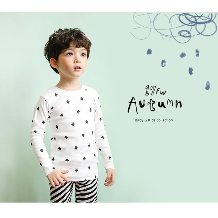 Set đồ cotton xuất Hàn cho bé trai - quần áo trẻ em 2