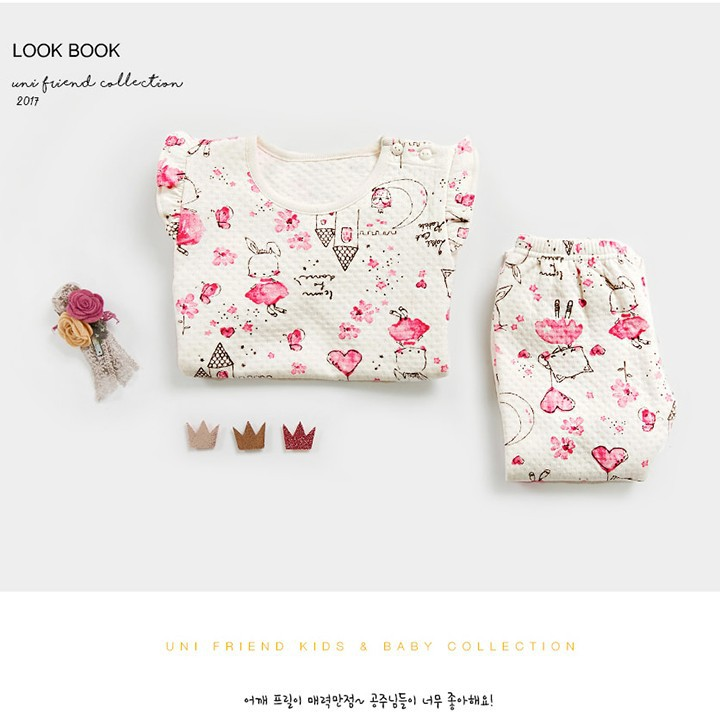 Set đồ đáng yêu cho bé gái - Đồ xuất Hàn - đồ bộ cho bé 5