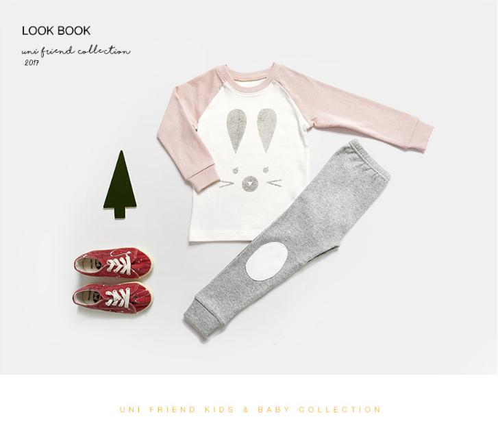 Set đồ xuất Hàn hình thỏ cho bé - quần áo bé gái 1-12 tuổi 3
