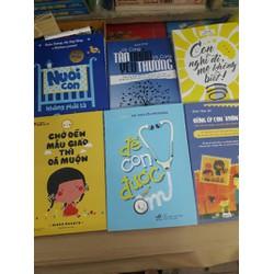 Combo 6 cuốn sách về nuôi dạy con