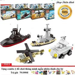 Lego xếp hình 4 bộ đồ chơi | Lego xếp hình