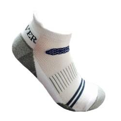 Tất thể thao nam cotton dầy cổ ngắn Activer  Sports màu trắng xanh